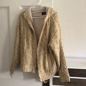 BDG heavyweight knit coat